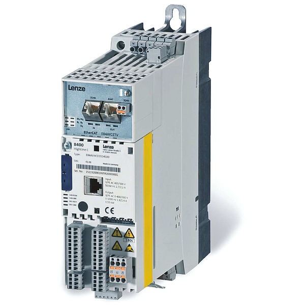 Lenze Inverter Drives 8400 HighLine Frequency Inverters
