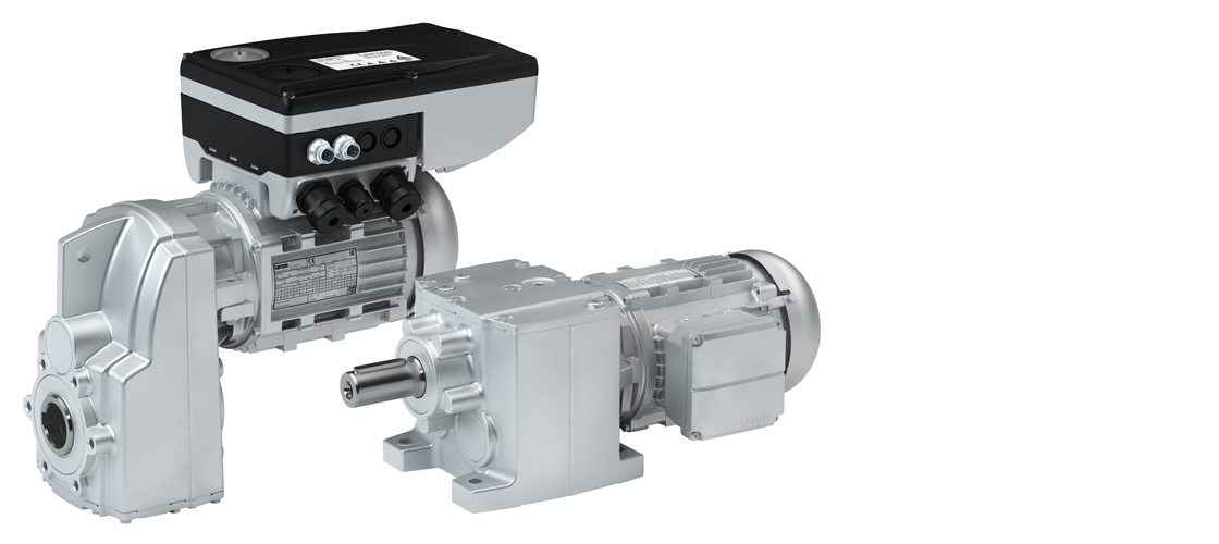 Lenze g500-S shaft-mounted helical gearbox and g500-H helical gearbox geared motors