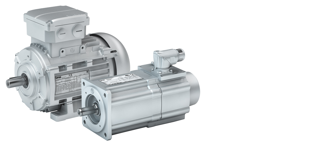 Lenze three-phase AC motors and servo motors