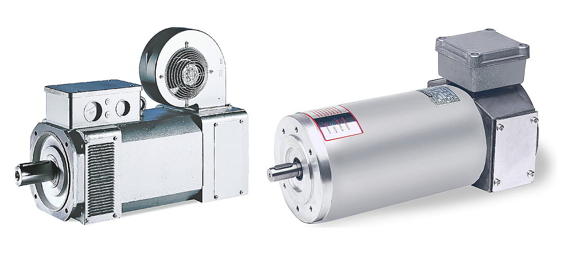 Lenze MDFQA asynchronous servo motors and 13.750 asynchronuous motors