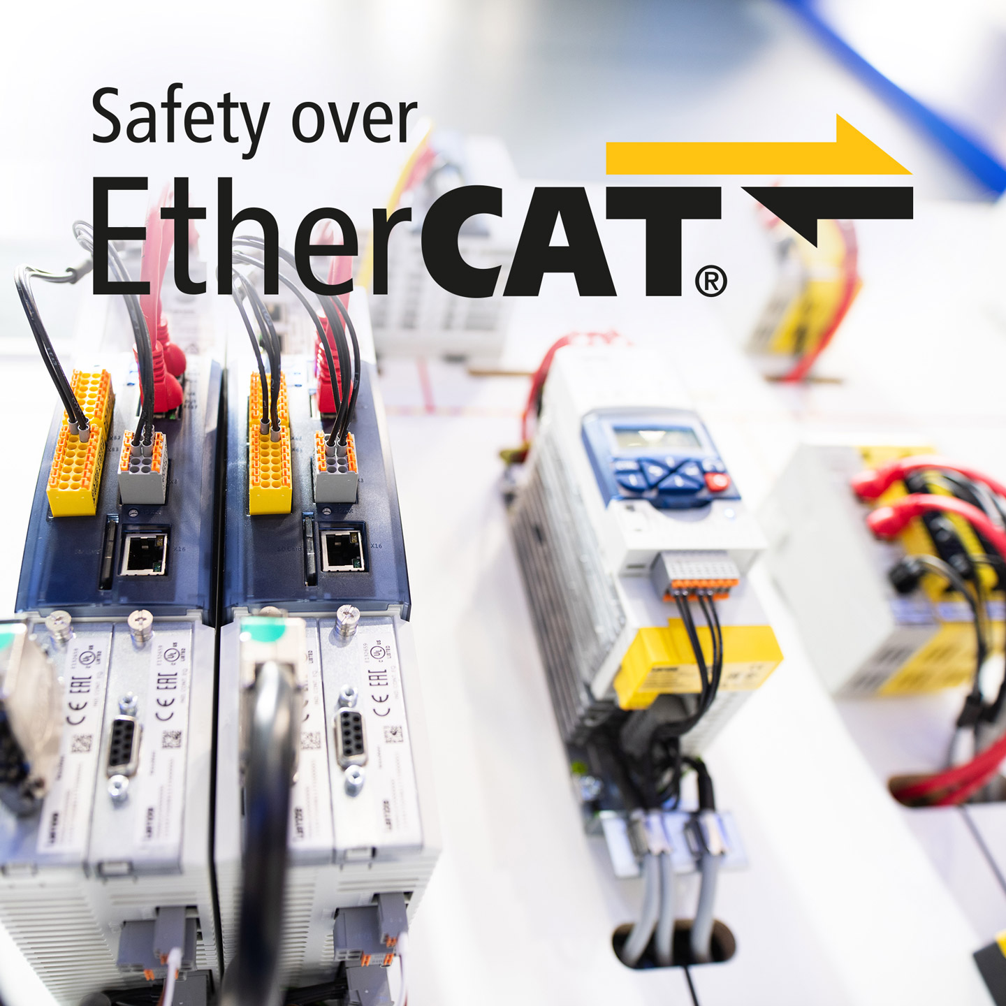 Safety topologies EtherCAT